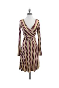 ISSA London short dress Multicolor Print Silk Wrap on Tradesy