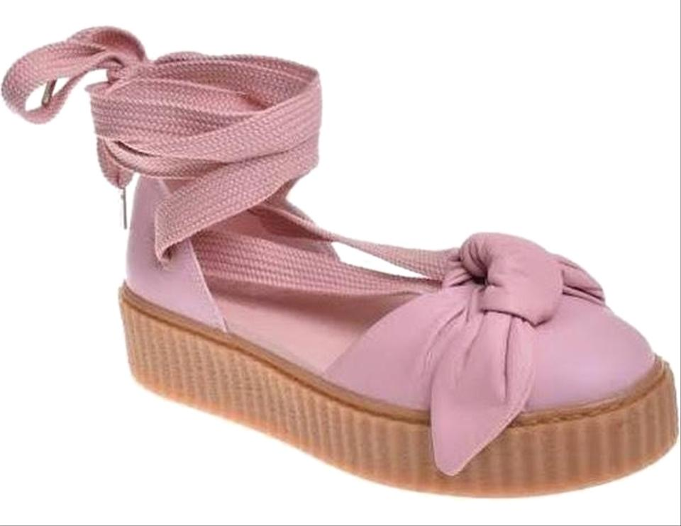 2e86fa68b13 FENTY PUMA by Rihanna Bow Creeper Sandals Size US 9 Regular (M