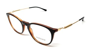 834f728fc9a1 Versace NEW VE 3227 138 BLACK   GOLD WOMEN S AUTHENTIC FRAME ...