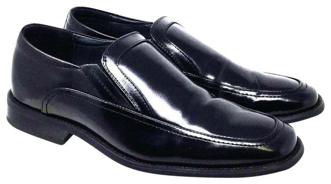 Item - Black Men's Loafers Leather Mules/Slides Size US 7.5 Regular (M, B)