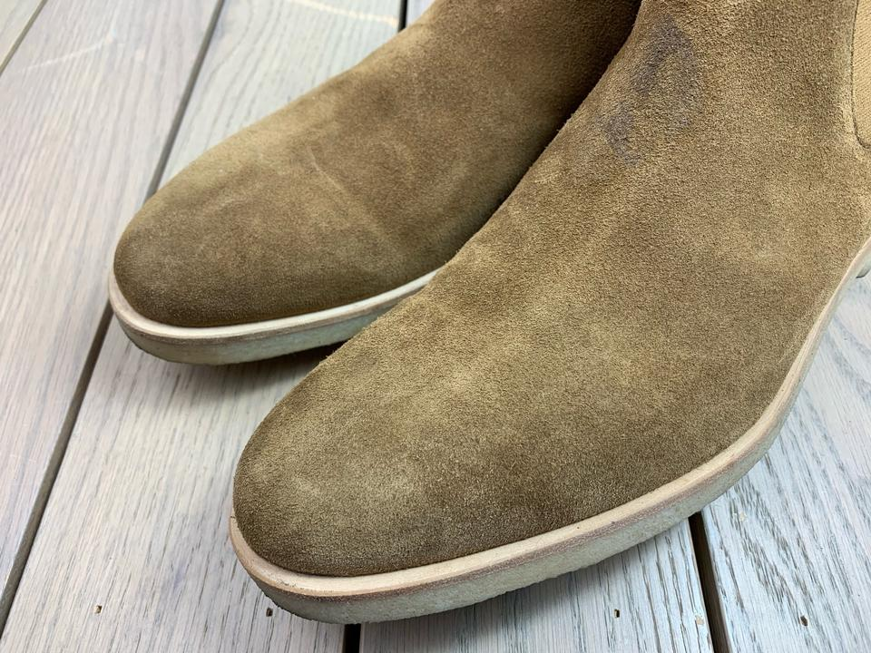 Common Projects Chelsea Waxed Tan Brown Suede (Mens 43it10us) BootsBooties Size US 10 Regular (M, B)