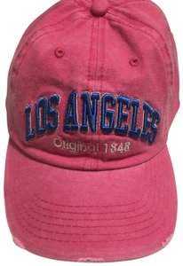 Robin Ruth pink Los Angeles hat