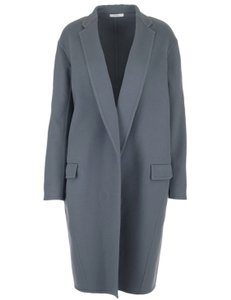 Céline Cashmere Longsleeve Mid Sized Long Made In France Fur Coat