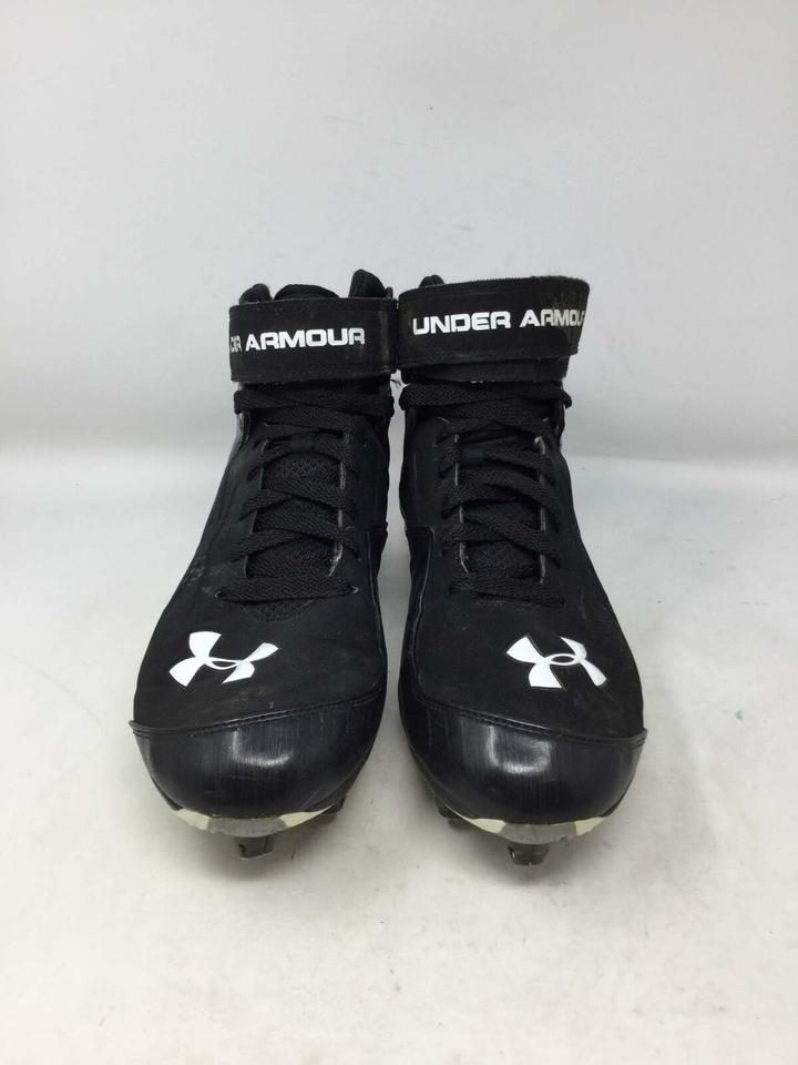 0f29087796 Under Armour Black Men's High Top Football Cleats Eu 45.5 Sneakers Size US  11.5 Regular (M, B) 67% off retail