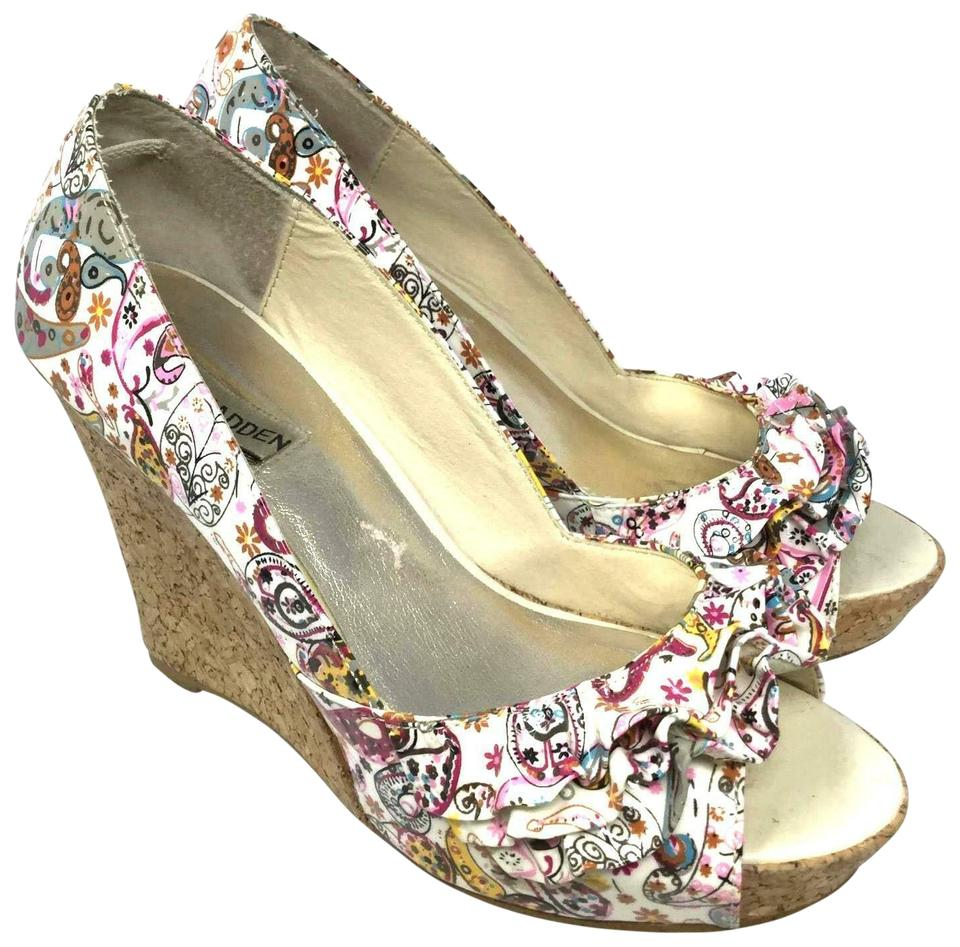 562151aec9e Steve Madden Paisley P-camio Women's Heels Wedges Size US 6.5 Regular (M,  B) 71% off retail