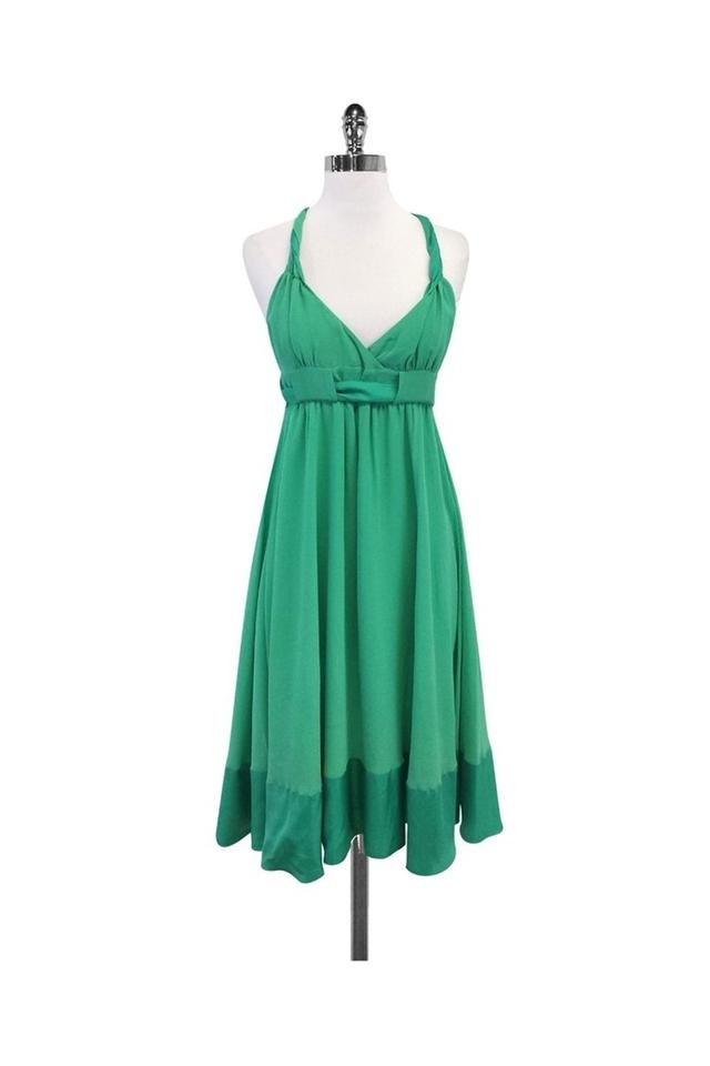 20209b649a0 French Connection Green Short Casual Dress Size 6 (S) - Tradesy