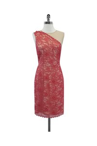 Erin Fetherston short dress Pink Beige Floral Lace on Tradesy