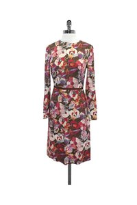 Peter Som short dress Multicolor Floral Print on Tradesy