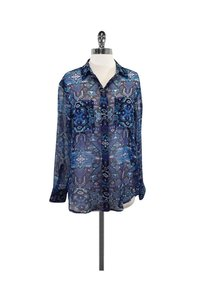 4e4d8dc291c4d Blue Equipment Blouses - Up to 70% off a Tradesy