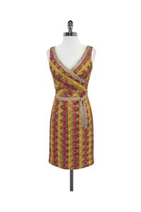 Kay Unger short dress Multicolor Knit Sleeveless on Tradesy
