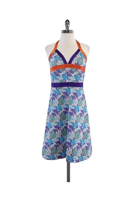 Item - Blue Short Casual Dress Size 6 (S)