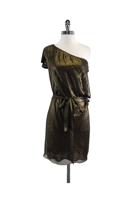 Item - Gold Short Casual Dress Size 0 (XS)