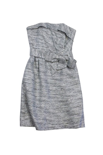 Item - Silver Short Casual Dress Size 6 (S)