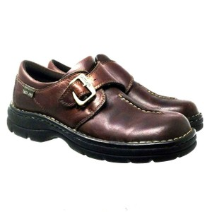 Eastland S112018-08 Leather Brown Mules