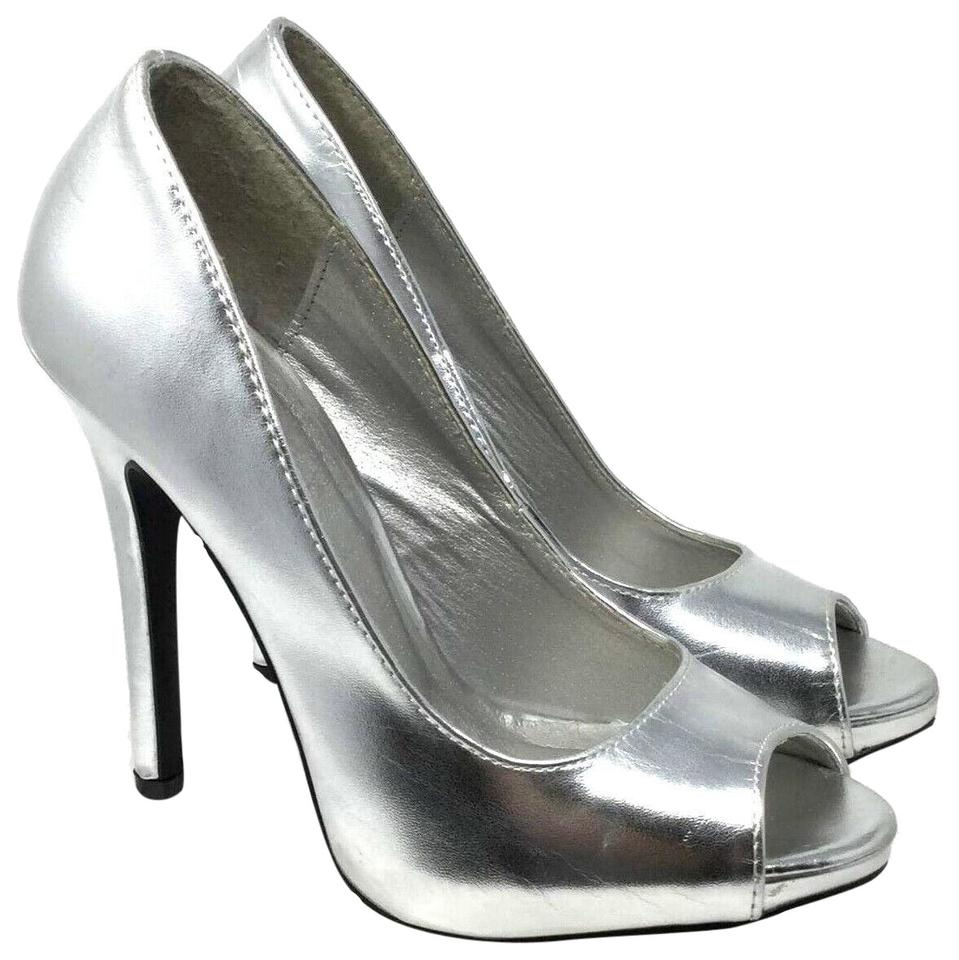 23752347dde Women s Silver Charlotte Russe Shoes - Up to 90% off at Tradesy