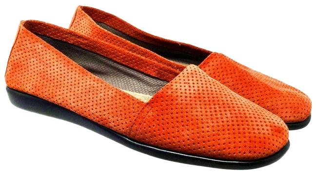 Item - Tangerine Women's Stitch N' Run Slip On Suede Flats Size US 11 Regular (M, B)