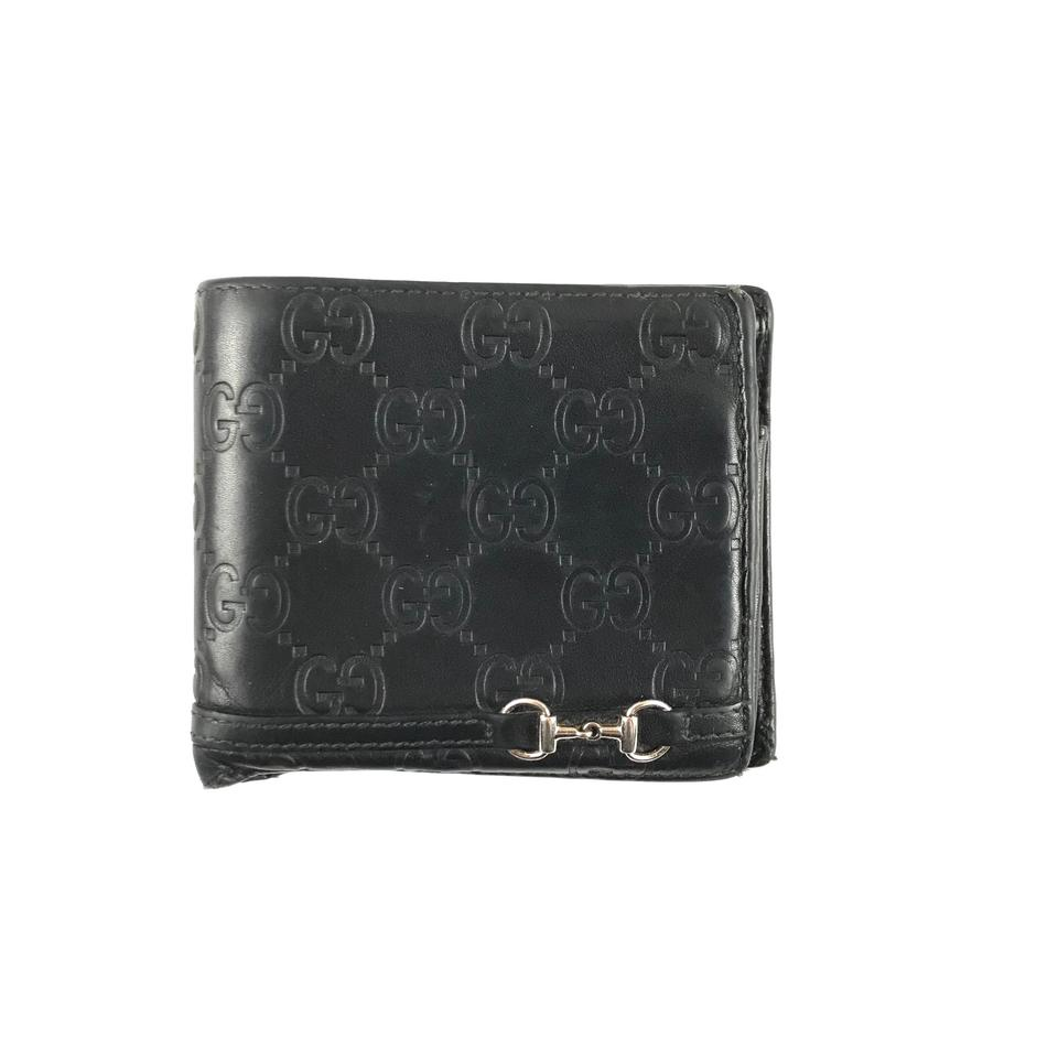 53399cca150 Gucci Leather Monogram Bifold Wallet Image 0 ...