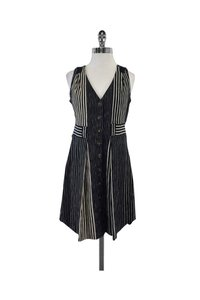 Marc by Marc Jacobs short dress Navy Beige Striped on Tradesy