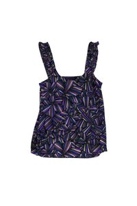 Marc by Marc Jacobs Blue Green Print Top Purple