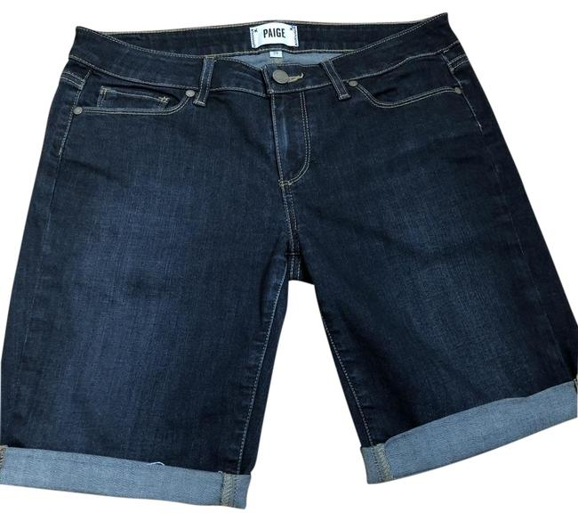 Item - Blue Denim Kayla Wash Rolled Shorts Size 8 (M, 29, 30)