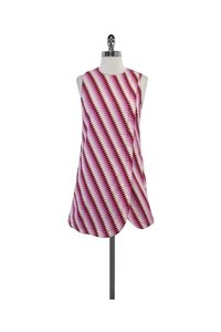 House of Holland short dress pink White Cotton Blend on Tradesy