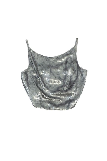 Item - Silver Activewear Top Size 10 (M)