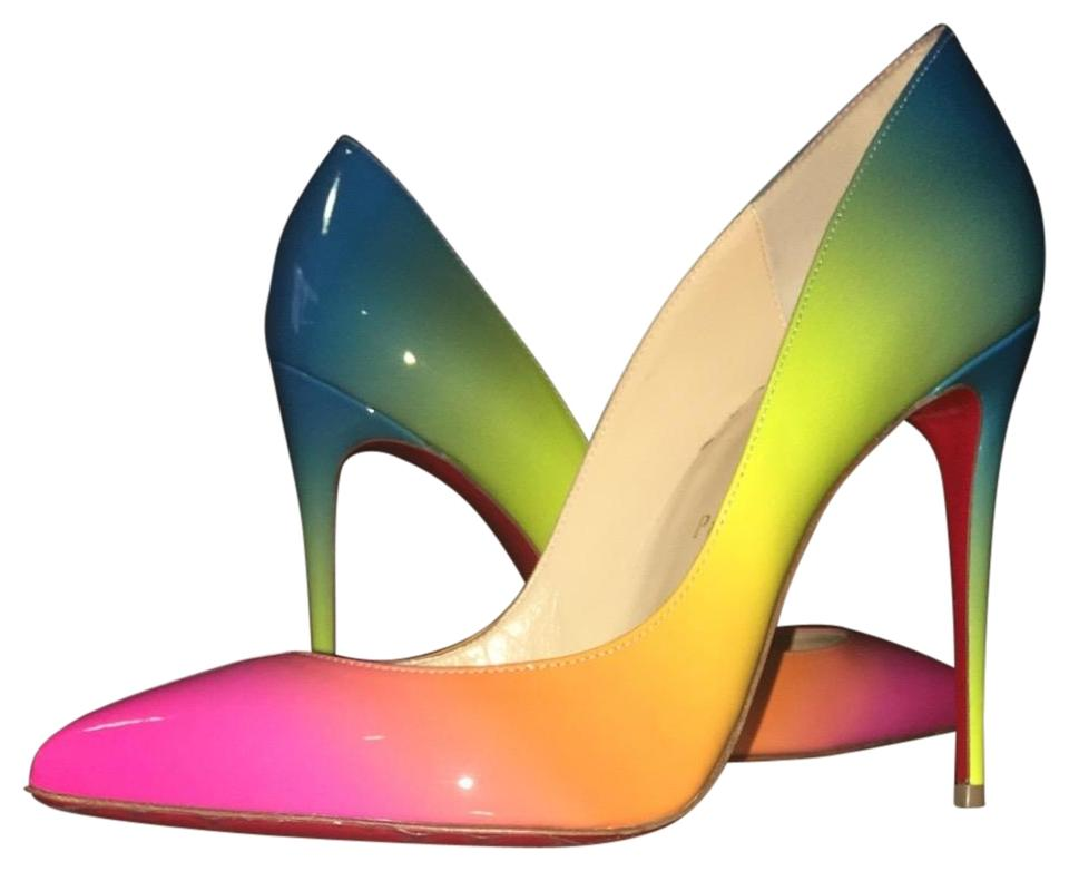 new product 64c9e 64cc0 Rainbow Pigalle Follies Pumps
