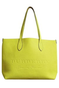 Burberry Tote in Yellow Neon