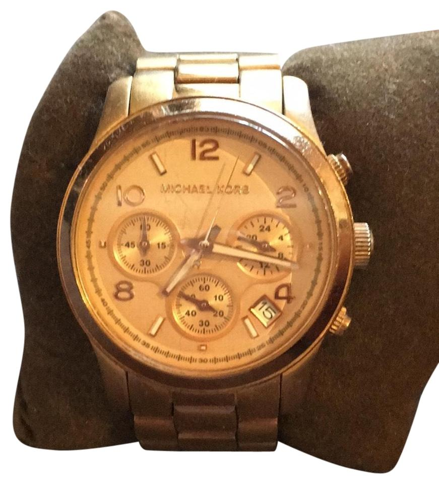 8032b0be1538 MICHAEL Michael Kors Michael by Michael Kors Chunky Rose Gold Watch Image 0  ...