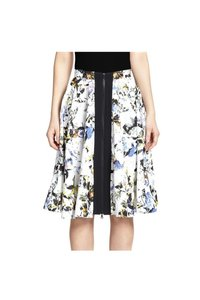 Elizabeth and James Printed Zip Skirt White