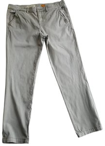 Anthropologie Pilcro Relaxed Pants Taupe