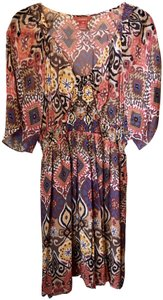 Sundance short dress Multicolored Silk Polyester on Tradesy