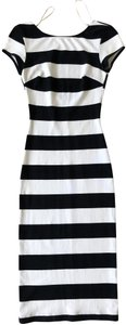 Black and White Maxi Dress by Zara