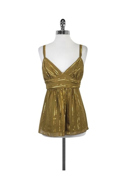 Item - Gold Activewear Top Size 6 (S)