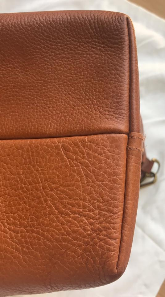 2f753a5d8 Madewell Carryall Ziptop Transport English Saddle Brown Leather Tote ...