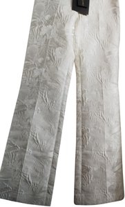 Christian Siriano Wide Leg Pants Light cream