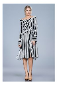Ark & Co. short dress black Stepping Out In Stripes on Tradesy