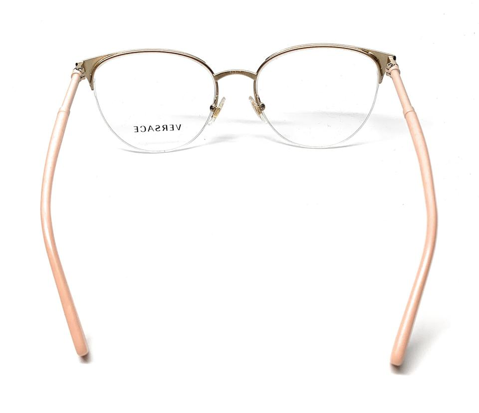 e717fee205f9 Versace NEW VE 1247 1407 MATTE PINK WOMEN S AUTHENTIC FRAME 52-17 Image 4.  12345