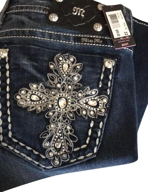 Item - Medium Wash Signature Rise One Pair Was Worn Once Boot Cut Jeans Size 12 (L, 32, 33)