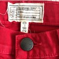 Current/Elliott Victory Red Distressed The Stiletto Skinny Jeans Size 2 (XS, 26) Current/Elliott Victory Red Distressed The Stiletto Skinny Jeans Size 2 (XS, 26) Image 5