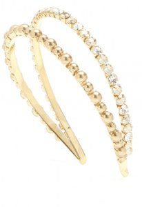 Miu Miu Metallic Crystal-embellished Headband