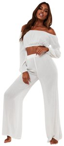Adam Lippes Wide Leg Pants White