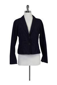 Lida Baday Navy Blue Two Button Jacket