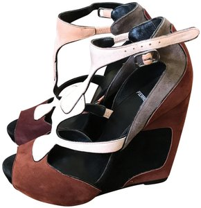 83973451bb49 Pierre Hardy Color block Wedges