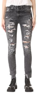 R13 Distressed Skinny Jeans-Distressed