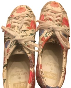 45103136b6ac5 Kate Spade Coated Canvas Pattern Keds Floral Design Athletic
