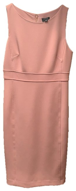 Item - Pink Mid-length Work/Office Dress Size 2 (XS)