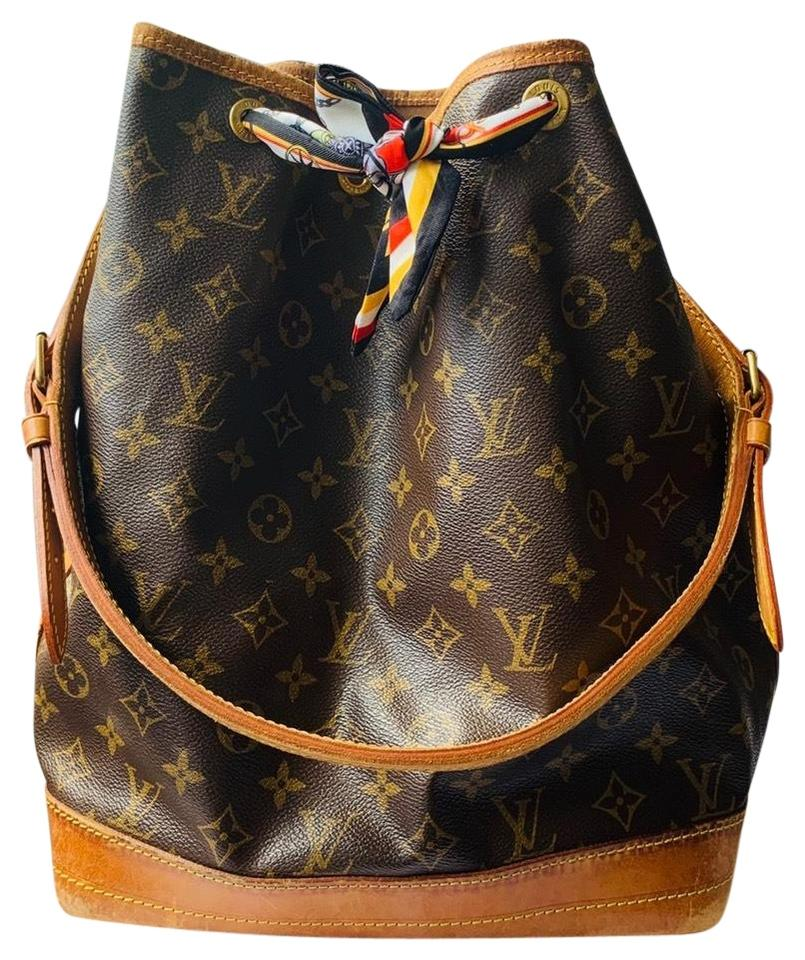 324bf154a1f4 Louis Vuitton Bucket Monogram Noe Gm Coated Canvas Hobo Bag - Tradesy