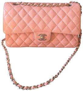Chanel Caviar Caviar Caviar 2.55 Double Flap Caviar B Shoulder Bag