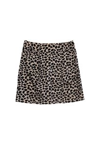 Marc by Marc Jacobs Animal Print Skirt tan